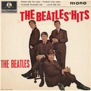 "The Beatles The Beatles' Hits EP - 1½ UK 7"" vinyl"