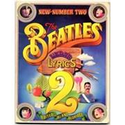 The Beatles The Beatles Illustrated Lyrics 2 UK book
