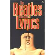 The Beatles The Beatles Illustrated Lyrics UK book