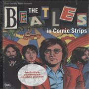 The Beatles The Beatles In Comic Strips UK book