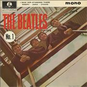 "The Beatles The Beatles (No. 1) EP - 2nd UK 7"" vinyl"