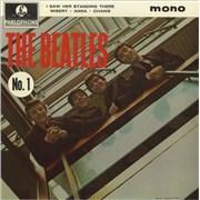 "The Beatles The Beatles (No. 1) EP - EMI Records UK 7"" vinyl"
