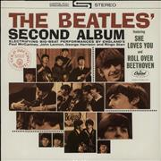 The Beatles The Beatles' Second Album - Purple Label USA vinyl LP