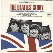 The Beatles The Beatles' Story - Lime Green Label USA 2-LP vinyl set