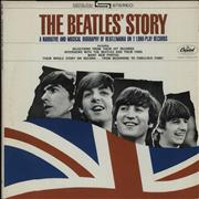 The Beatles The Beatles' Story - Purple USA 2-LP vinyl set