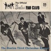 "The Beatles The Beatles Third Christmas Record + Newsletter UK 7"" vinyl"