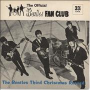 "The Beatles The Beatles Third Christmas Record - P/S UK 7"" vinyl"