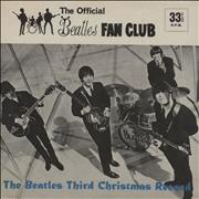 """The Beatles The Beatles Third Christmas Record - Complete with extras UK 7"""" vinyl"""