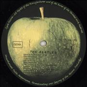 The Beatles The Beatles [White Album] Germany 2-LP vinyl set