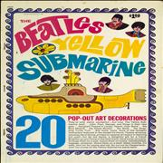 Click here for more info about 'The Beatles Yellow Submarine Pop-Out Art Decorations'