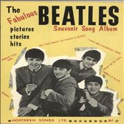 The Beatles The Fabulous Beatles Souvenir Song Album UK sheet music