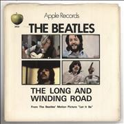 "The Beatles The Long And Winding Road - P/S USA 7"" vinyl"