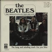 """The Beatles The Long And Winding Road Spain 7"""" vinyl"""