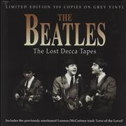 The Beatles The Lost Decca Tapes - Grey Vinyl UK vinyl LP