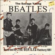 """The Beatles The Savage Young Beatles - Sealed UK 10"""" vinyl"""