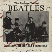 "The Beatles The Savage Young Beatles UK 10"" vinyl"
