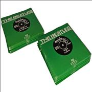 """The Beatles The Singles Collection 1962-1970 - 1976 Retail UK 7"""" vinyl"""