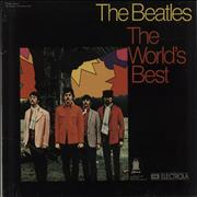 The Beatles The World's Best - Blue Odeon Label Germany vinyl LP