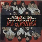 Click here for more info about 'The Beatles - Ticket To Ride - Orange Label'