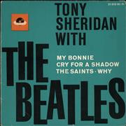 Click here for more info about 'Tony Sheridan With The Beatles EP - 1st - VG'