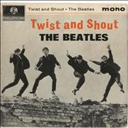 "The Beatles Twist And Shout - 1st - VG UK 7"" vinyl"