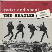 The Beatles Twist And Shout - Purple Label - Stereo Canada vinyl LP
