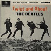 "The Beatles Twist And Shout EP - 1st UK 7"" vinyl"