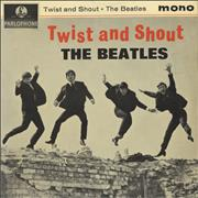 "The Beatles Twist And Shout EP - 4th UK 7"" vinyl"