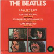 "The Beatles Un Dia En La Vida - A Day In The Life - 2nd Mexico 7"" vinyl"