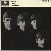The Beatles With The Beatles - 1st - EJD - Gotta - VG+ UK vinyl LP