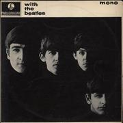 Click here for more info about 'The Beatles - With The Beatles - 1st - EX'
