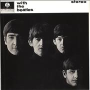 The Beatles With The Beatles - 2017 issue UK vinyl LP