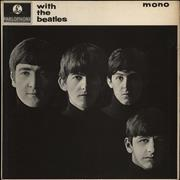 Click here for more info about 'With The Beatles - 2nd - EX'