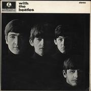 The Beatles With The Beatles - 3rd - VG UK vinyl LP