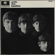 The Beatles With The Beatles - 4th UK vinyl LP