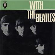 The Beatles With The Beatles - Green label - Mono Germany vinyl LP