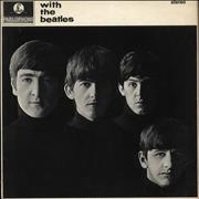 The Beatles With The Beatles - One Box - Stereo Logo - EX UK vinyl LP