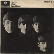 The Beatles With The Beatles - VG/G South Africa vinyl LP