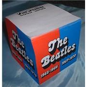 The Beatles Writing Block - Red & Blue Albums UK memorabilia Promo