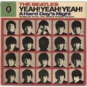 The Beatles Yeah! Yeah! Yeah! - Green label - Mono Germany vinyl LP