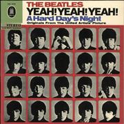 The Beatles Yeah! Yeah! Yeah! - White & Gold - Stereo Germany vinyl LP