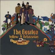 The Beatles Yellow Submarine - 1st - VG UK vinyl LP