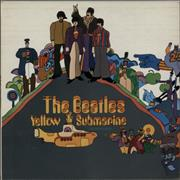The Beatles Yellow Submarine - 1st - VG UK vinyl LP