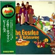 The Beatles Yellow Submarine - Beatles Forever Obi Japan vinyl LP