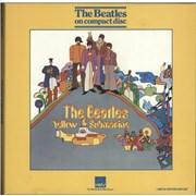 The Beatles Yellow Submarine - EX UK cd album box set