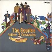The Beatles Yellow Submarine - Red Vinyl Japan vinyl LP