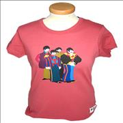 Click here for more info about 'The Beatles - Yellow Submarine Character Print [Ladies: Large]'