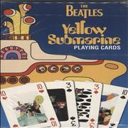 The Beatles Yellow Submarine Playing Cards UK Toy