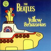 The Beatles Yellow Submarine Songtrack - Yellow UK vinyl LP