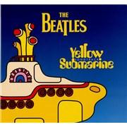 The Beatles Yellow Submarine Songtrack UK vinyl LP